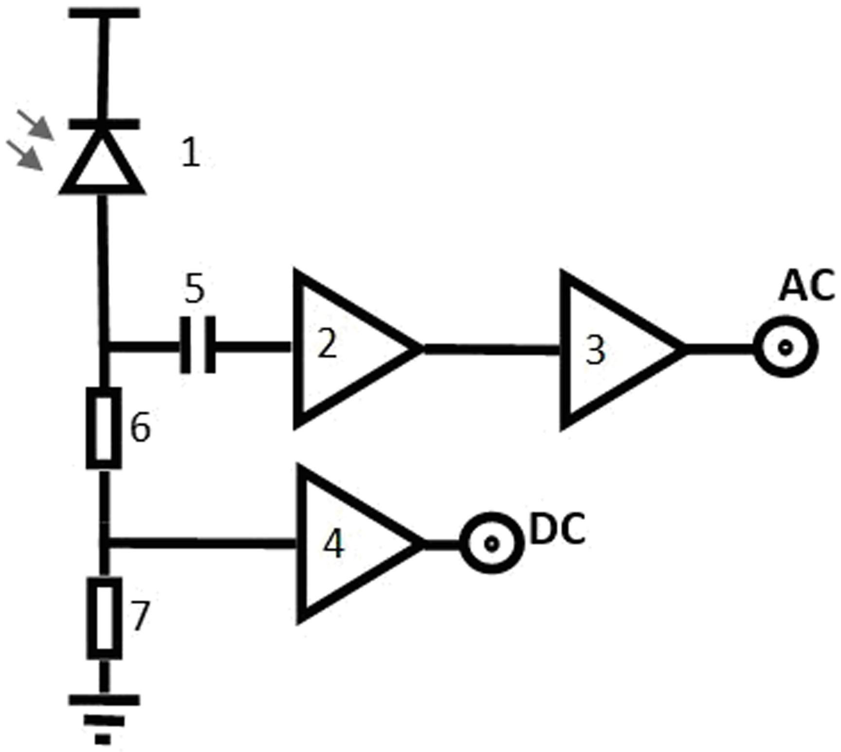 微功率宽带光电探测器